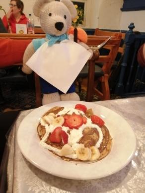 Pancake excitement