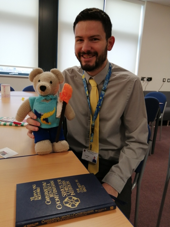 Tedi Su and Mr Gwillym