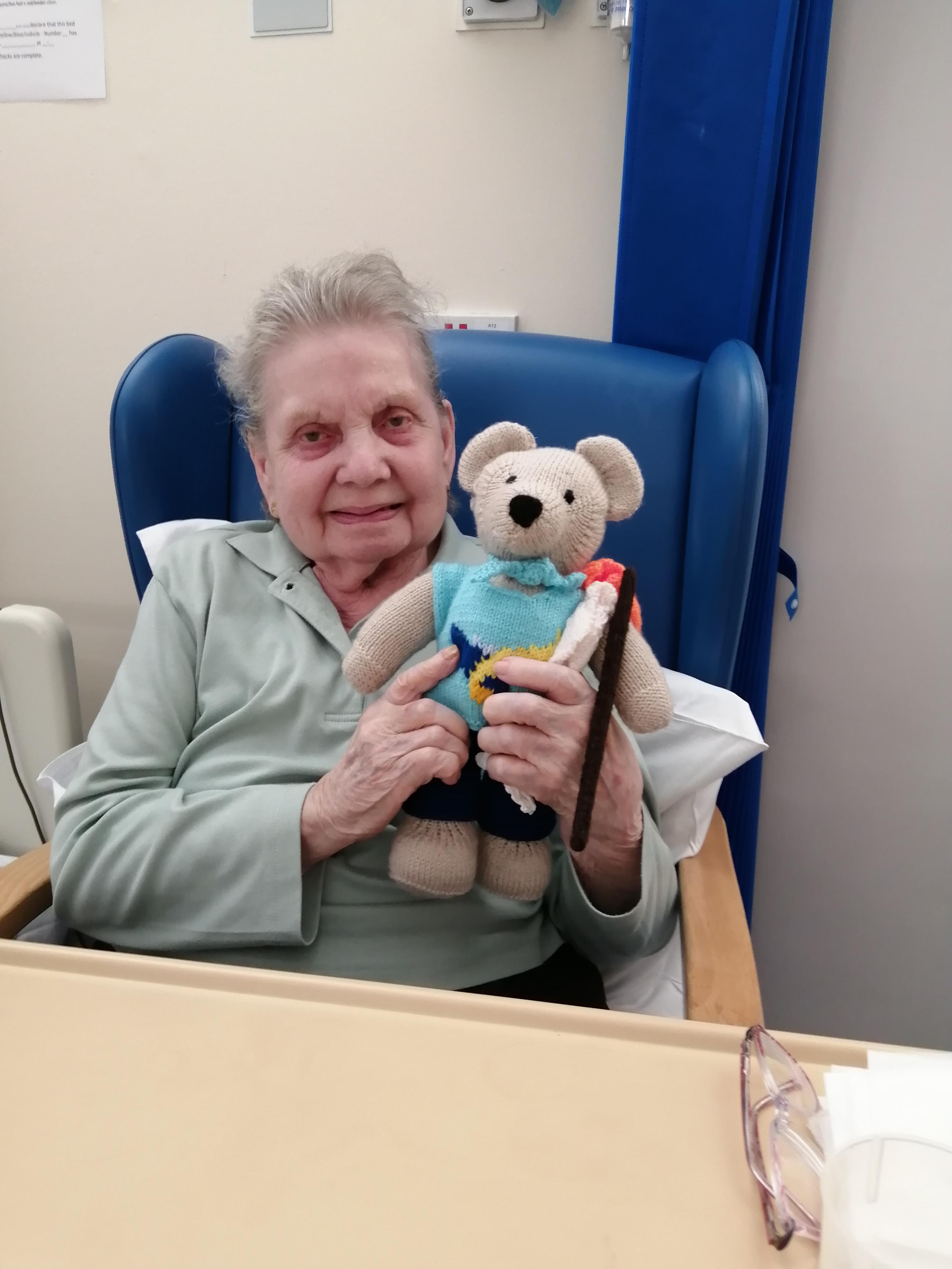 Visiting Beryl in POW