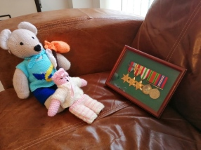 Teddies and medals